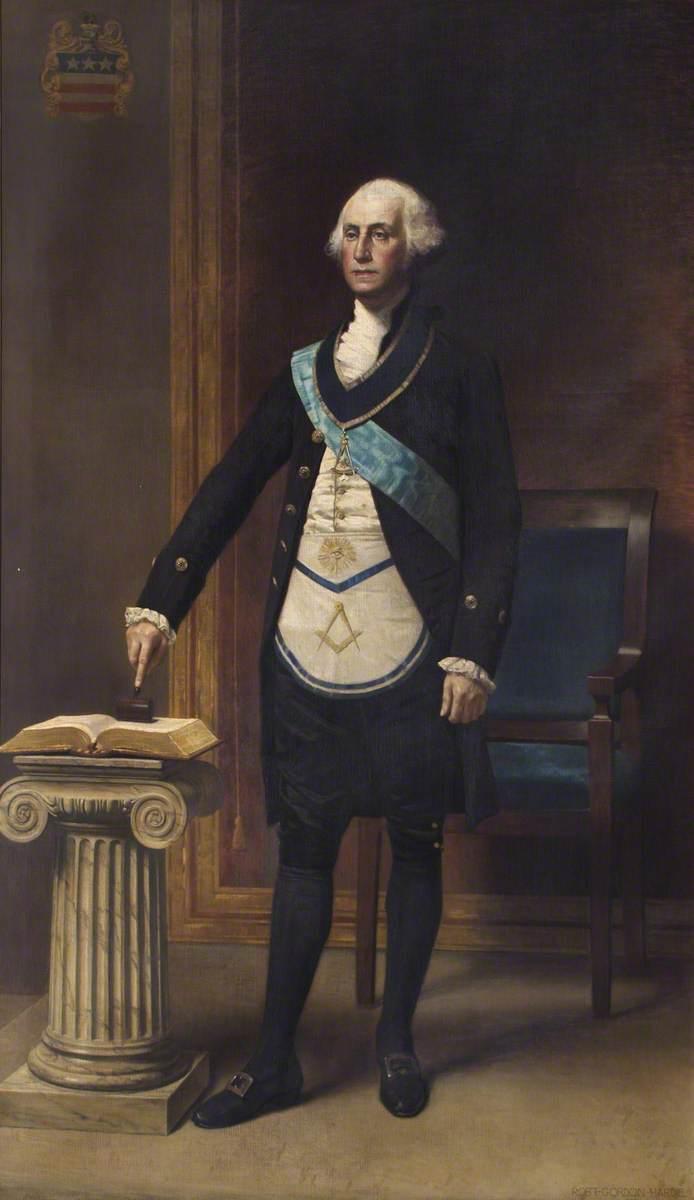 Hardie, Robert Gordon, 1854-1904; George Washington (1732-1799), President of the United States of America
